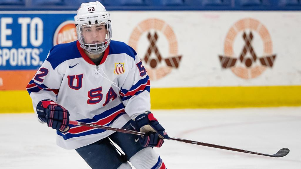2020 Draft: Berard playing beyond size for USA Hockey